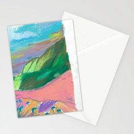 pink pave Stationery Cards