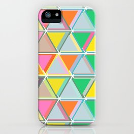 Triangles to the Third Degree iPhone Case