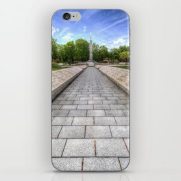 Soviet War Graves Budapest iPhone Skin
