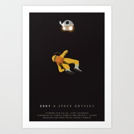 2001 tribute poster Art Print
