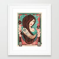 party Framed Art Prints featuring Party by Victor Beuren