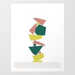 Stack (C) Art Print