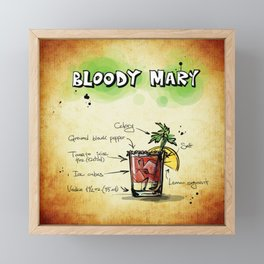 Bloody Mary Framed Mini Art Print