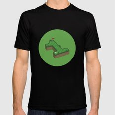 Hole In One Mens Fitted Tee Black MEDIUM