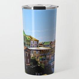 Cerro Conception, Valparaiso, Chile Travel Mug