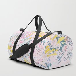 Pine Leaves - abstract pattern Duffle Bag