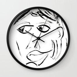 Alejandra Pizarnik Wall Clock