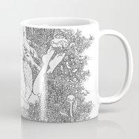 dreamer Mugs featuring Dreamer by KadetKat