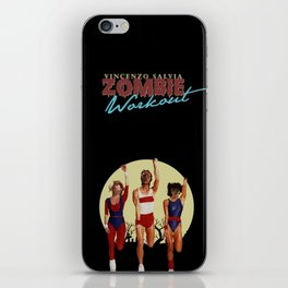 Zombie Workout iPhone Skin