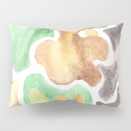 170623 Colour Shapes Watercolor 4    Abstract Shapes Drawing   Abstract Shapes Art Pillow Sham