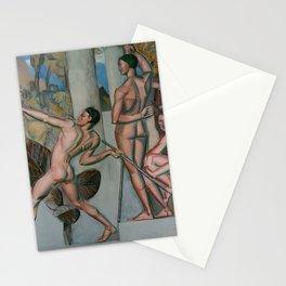 Mens sana in corpore sano by Georg Pauli Stationery Cards