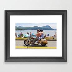 Love Handles  Framed Art Print