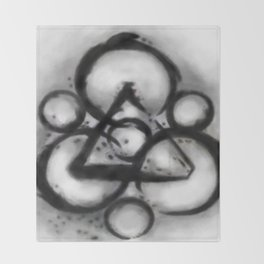 Coheed and Cambria Watercolor Painting  Throw Blanket