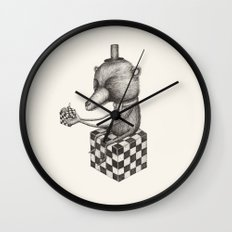 'Puzzle' Wall Clock