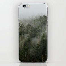 Pacific Northwest Foggy Forest iPhone & iPod Skin