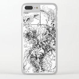around there somewhere Clear iPhone Case