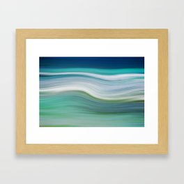 OCEAN ABSTRACT Framed Art Print