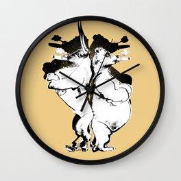 The Bull & Bear Wall Clock