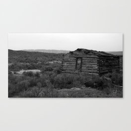 Sagebrush Memories Canvas Print