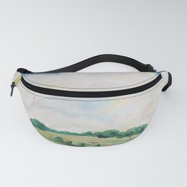 original abstract landscape painting number 10 Fanny Pack
