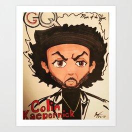 Man of the Year Art Print