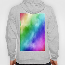 Rainbow Watercolors Hoody