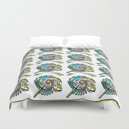 Lizard Enticement Duvet Cover