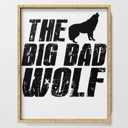 The Big Bad Wolf Serving Tray