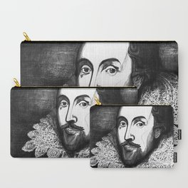 William Shakespeare Portrait - The Tudor Illustration Series Carry-All Pouch