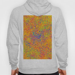 Orange and Blue Medley Hoody