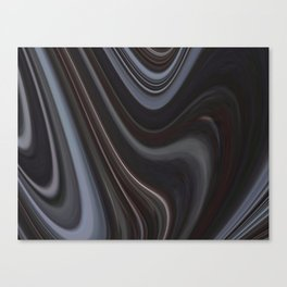 Rings of the night Canvas Print