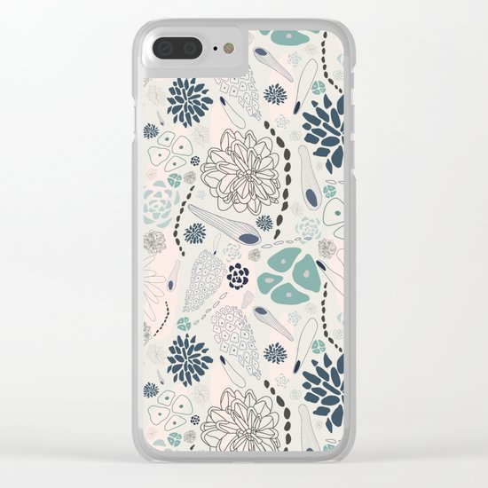 From The Woods Clear iPhone Case