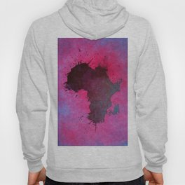 Africa map pink #africa #map Hoody
