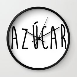 Azucar Wall Clock
