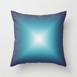 White Star Galaxy Throw Pillow