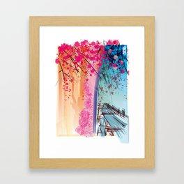 LANDSCAPE ZEN Framed Art Print
