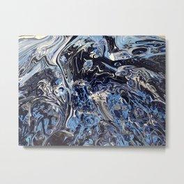 Grater Blue Metal Print