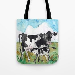 Cow Mommy Tote Bag