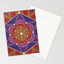 Fire Star Stationery Cards