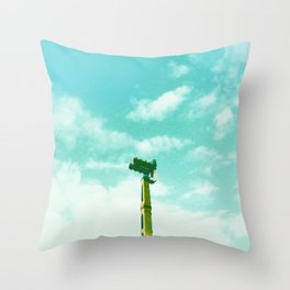 Leave your fears at home, darling Throw Pillow