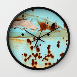 Riddled with Rust Original Wall Clock