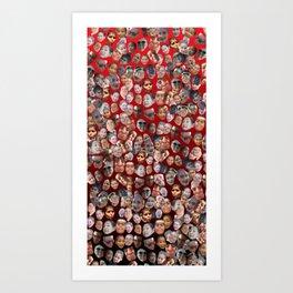 Dank Prado Towel Art Print