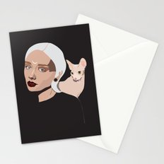 Grey Goddess Stationery Cards