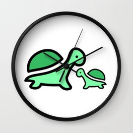 Turtles Wall Clock