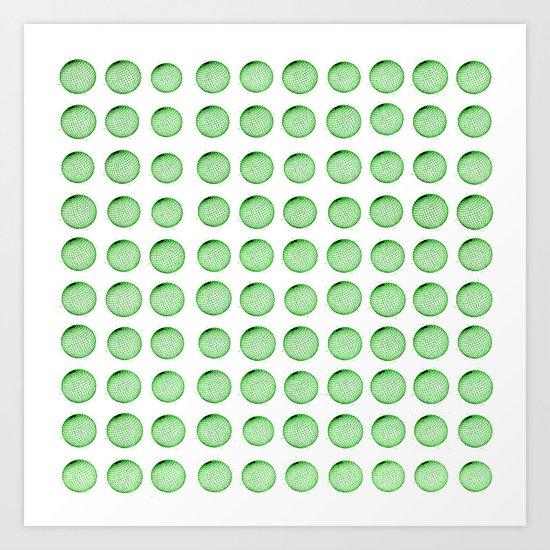 Little Balls (of various sizes) Art Print