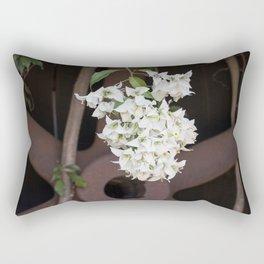 Bougainvillea and Wagon Wheel Rectangular Pillow