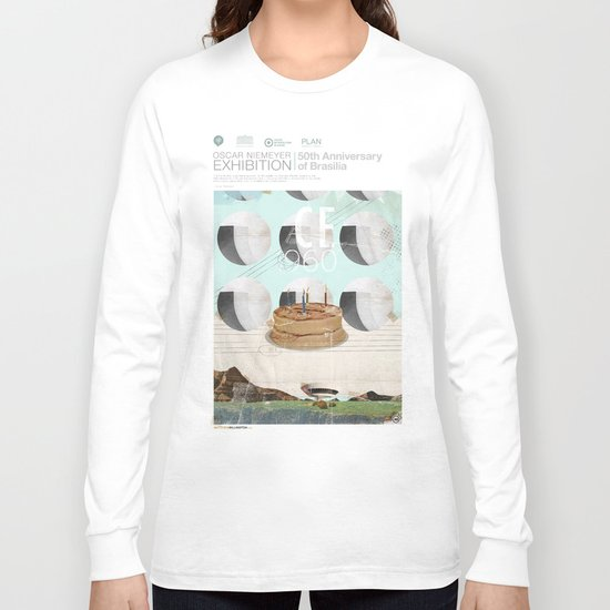 50th anniversary of the city of Brazil Long Sleeve T-shirt