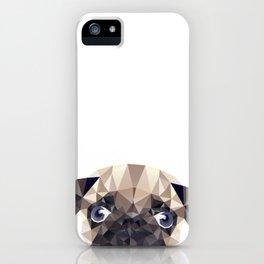 Pug Diamonds iPhone Case
