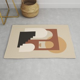 HOME - abstract minimalist art Rug