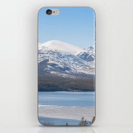 Icy river in Norway iPhone Skin